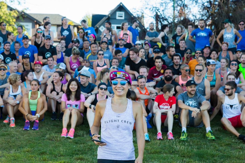 VRC Flight Crew x East Van Run Crew Summer Social Photo Credit: Vancouver Running Co